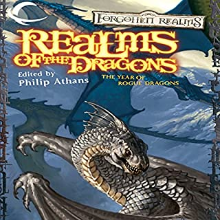 Realms of the Dragons     A Forgotten Realms Anthology              By:                                                                                                                                 Philip Athans (editor)                               Narrated by:                                                                                                                                 Christine Marshall                      Length: 10 hrs and 3 mins     20 ratings     Overall 4.1