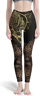 Bootleg Running Pants - 4 Way Stretch Compression Classic Yoga Pants