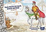 St. Martin ritt durch Schnee und Wind - Ein Spiellied. Bildkarten für unser Erzähltheater. Entdecken. Erzählen. Begreifen. Kamishibai Bildkartenset.: ... Erzählen. Begreifen. Kamishibai Bildkartenset - Karina Luzán (Ill.)