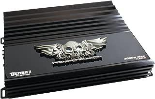 POWER ACOUSTIK D1-3000DB Demon 3000 Watt 1 Ohm Mono Amplifier - Black