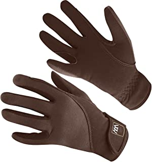 Woof Wear Precision Thermal Everyday Riding Glove 9 inches Chocolate