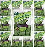 El Sabroso Guacachip, Guacamole Flavored Tortilla Chips, 1.5oz Bags (Pack of 12, Total of 18 Oz)