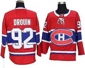 LNH Canadiens De Montr/éal De Hockey Fan Casual Formation Pull Jersey Zip Sweat-Shirt /à Manches Longues Manteau Grey-XL Outwear Veste /à Capuche Unisexe