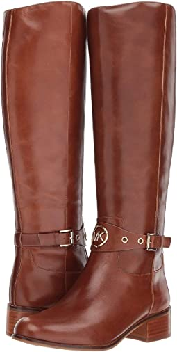 8f78dfad45a Dark Caramel Polished Cow Leather. 97. MICHAEL Michael Kors. Heather Boot