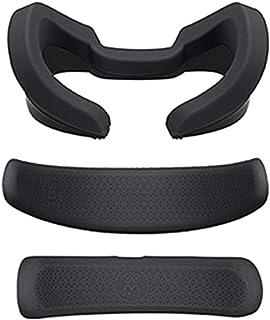 POHOVE 3pcs VR Silicone Protection Visage Cove R Pour Oculus-Rift S Écouteur, VR Avant Mousse Et Arrière Mousse Anti-sueur...
