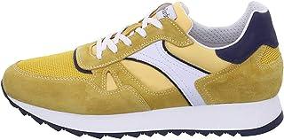 Nero Giardini E001500U Sneakers Uomo in Pelle, Camoscio E Tela