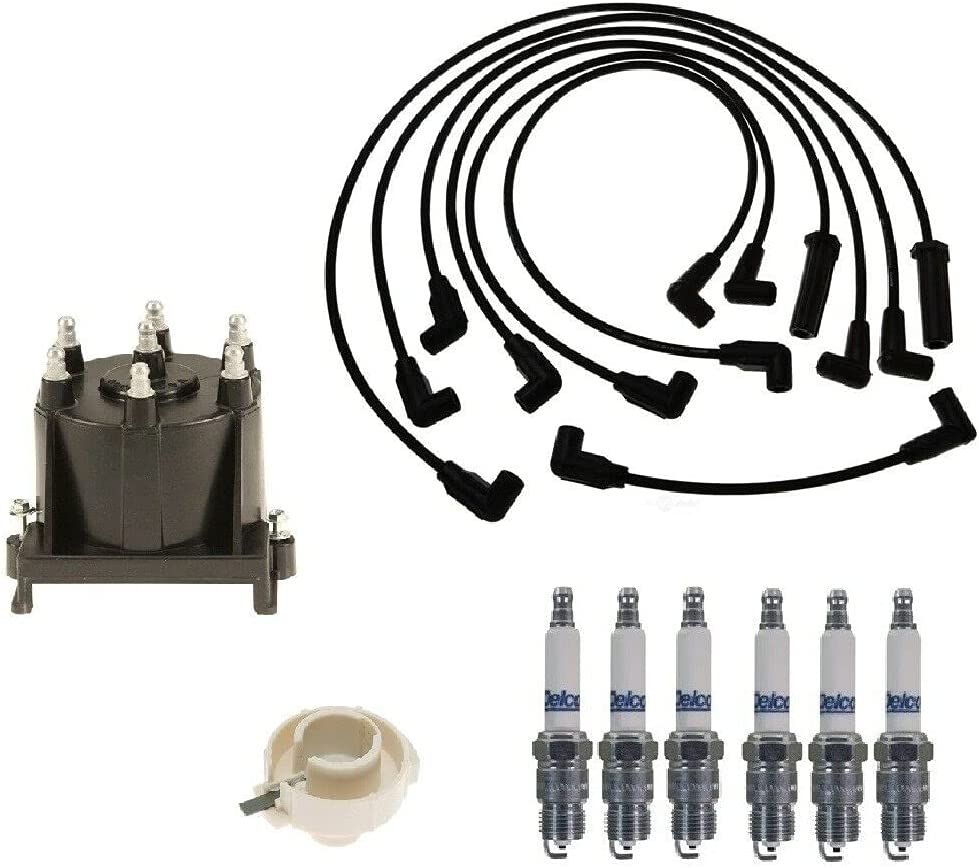 Replacement Distributor Cap Regular dealer Rotor Kit Wire Complete Free Shipping Plug Spark