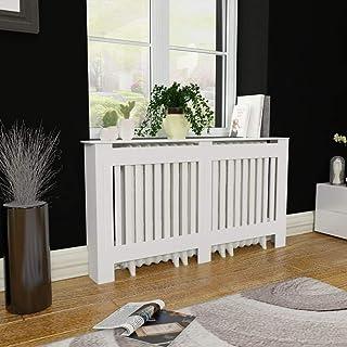 Cubierta de Calefacción Moderna, Mueble Cubierta para Radiador de MDF 152 x 19 x 81 cm