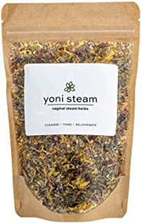 Yoni Steaming Herbs (5 Steams) | Cleanse, Tone, Rejuvenate | Formulated by Certified Practitioner | 100% Organic Vaginal S...