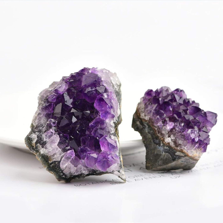 Cluster di Cristallo di Pietra Grezzo Geode di Quarzo-Deep Purple Colore 10-20g #N//A//a Unico Naturale Ametista
