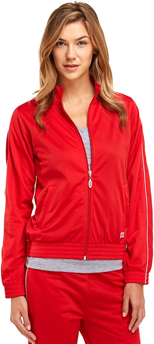 Soffe Girl's Warm-Up Jacket , Red , X-Large