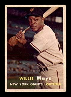 1957 Topps #10 Willie Mays VGEX X1779810