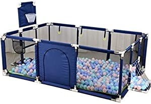 Teppichks Baby playpen Indoor Outdoor Play Space Kids Safety Play Center Yard Home Indoor Fence