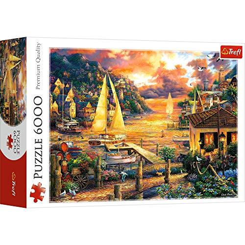 Trefl 65005 Puzzles 6000 Puzzels, farbig