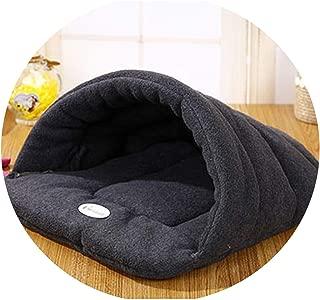 Hot! Pet Cat Bed Small Dog Puppy Kennel Sofa Polar Fleece Material Bed Pet Mat Cat House Cat Sleeping Bag Warm Nest