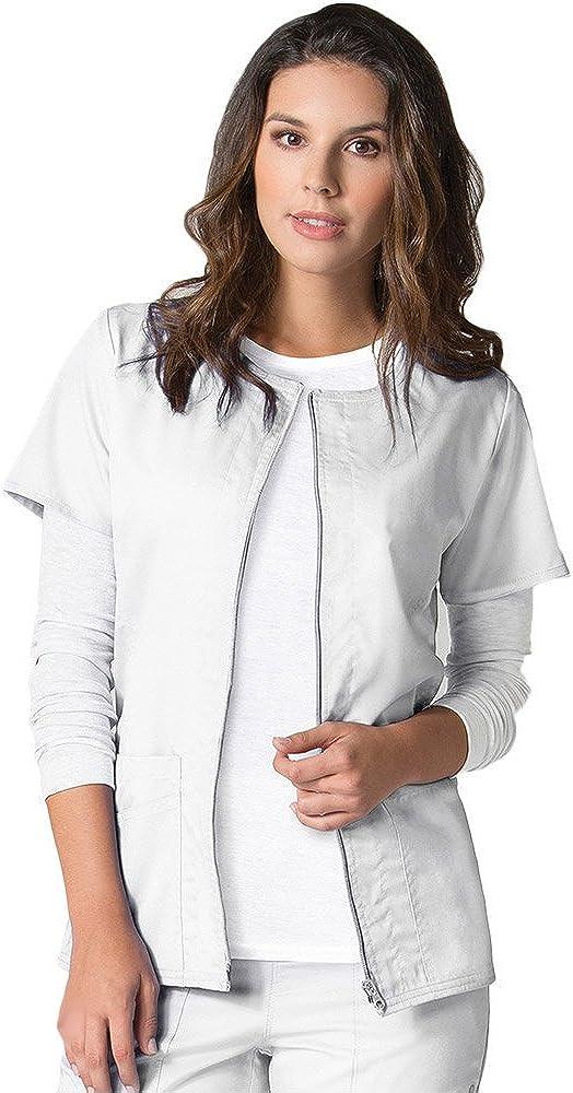 Excellent EON Maevn Women's Back Mesh Panel Choice Jacket Short Sleeve Zip Front