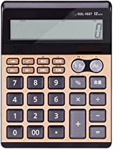SSKGZ Office Electronic Calculator Large Display and Button Handheld Daily and Basic Office Standard Functions (Color : Me... photo