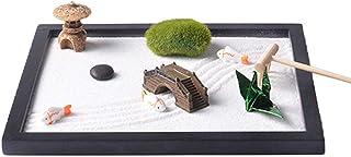 Chutoral Desktop Zen Garden, Mini Zen Table Garden with Zen