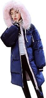 Realdo Womens Silk Velvet Coats Clearance Sale,Women Long Down Cotton Padded Pocket Fur Hooded Parka