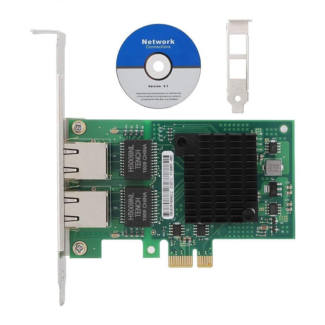 機械的特定のクリスチャン2ポートPCI-Eネットワークカード ASHATA i350-T2 PCI-Eデュアルポート Intel i350-AM2チッププロセッサ用 ギガビットネットワークカード Intelギガビットカード LANカードPCI-Eネットワークカード 高速伝送速度