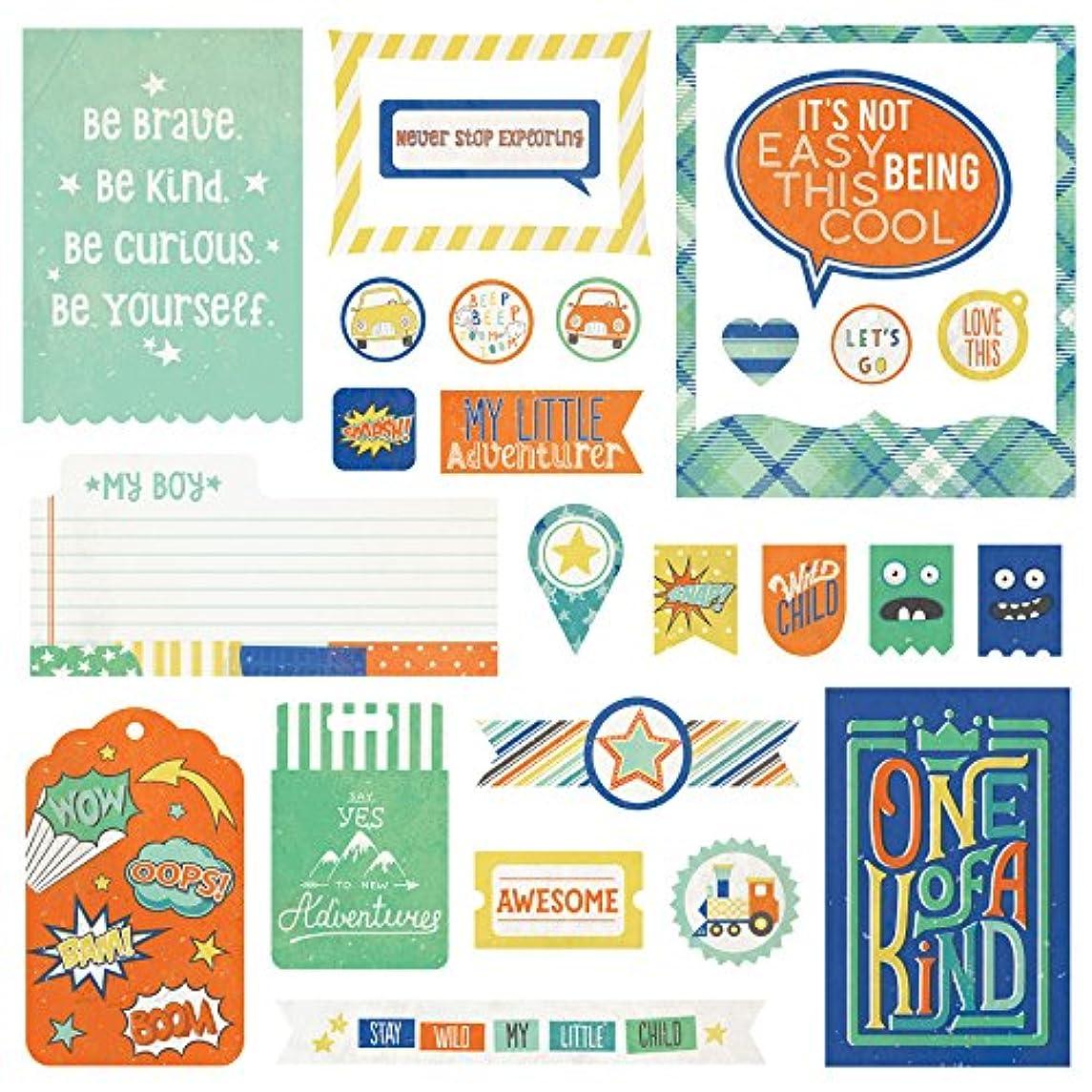 Photo Play Paper 26 Designs Boys Rule Ephemera Cardstock Die-Cuts