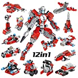 Construcción Robótica,Robot Stem Juguetes De Construcción Educativo Bloques Aprendizaje Kit...