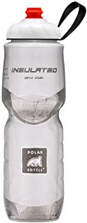 Polar Bottle ZipStream 24 oz - Insulated Cycling & Sports Water Bottle with High Flow Cap
