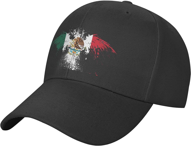 Mexico with Amarican Baseball Cap,Sport Classic Outdoor Dad Cap Running Hats for Teens Men Women