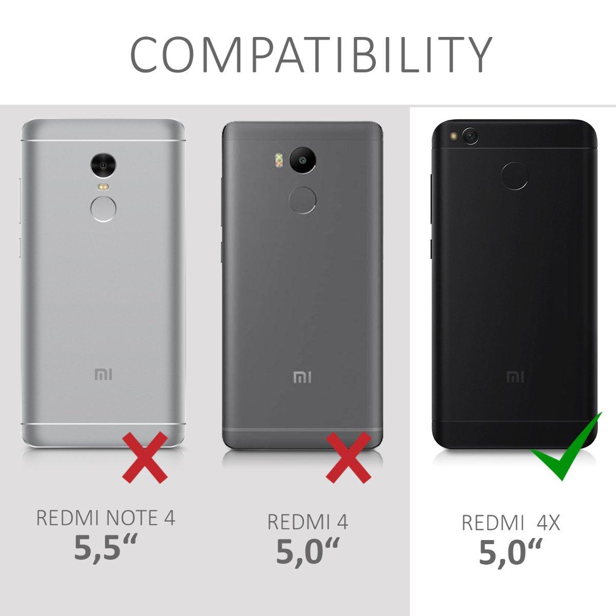 kwmobile Funda Compatible con Xiaomi Redmi 4X: Amazon.es: Electrónica