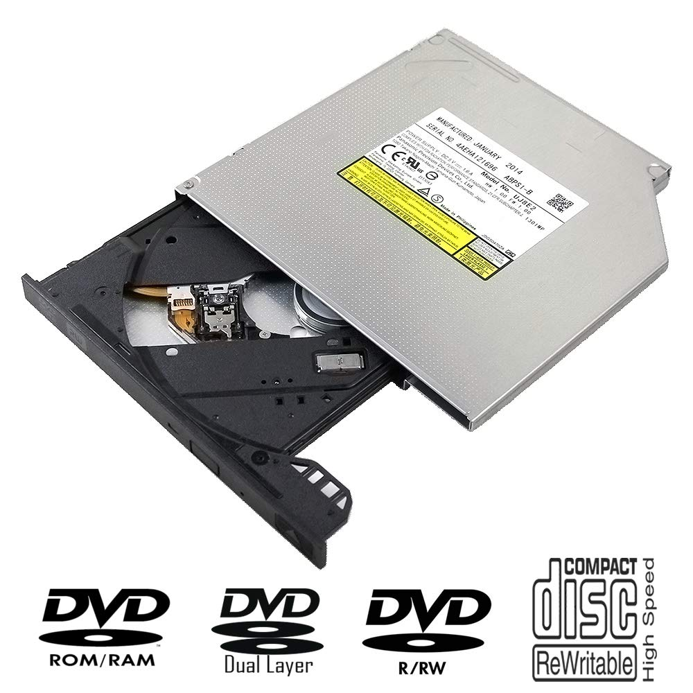 New Internal 6X 3D Blu-ray M-Disc Burner Optical Drive Replacement for Dell Inspiron 17 5000 7000 Series 5748 5758 7746 2015 17R-5737 2013 2014 2015 Laptop PC Super Multi 8X DVD+-RW CD-RW Writer