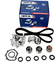 MOCA TCK304 Timing Belt Kit with Water Pump for 1999-2005 Subaru Impreza & Subaru Forester with Manual Transmission & 2000-2005 Subaru Outback 2.2L 2.5L SOHC