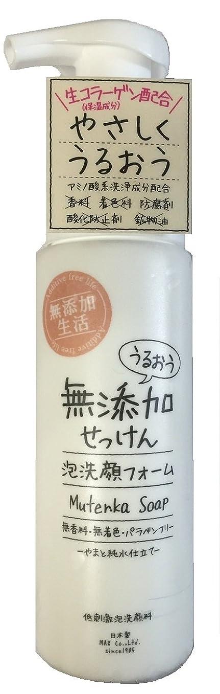 改修するモンキー不透明なうるおう無添加泡洗顔フォーム 200mL