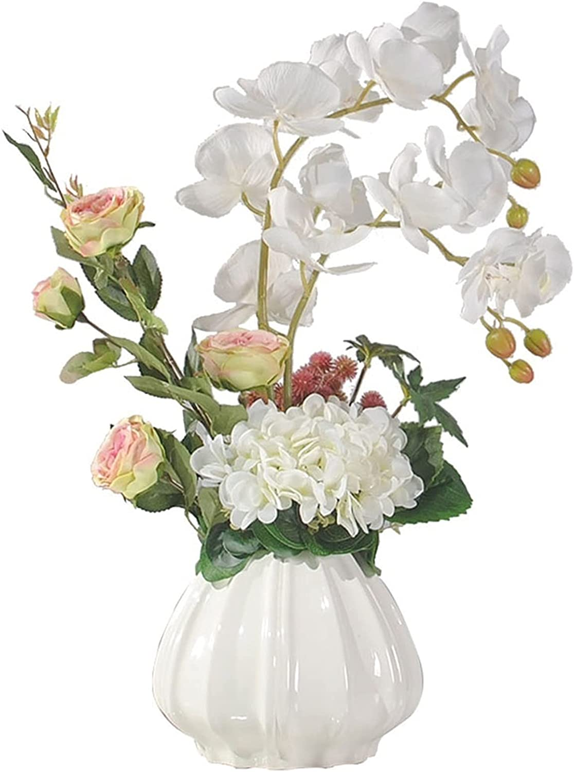 AOHAI Limited price sale Artificial Flowers Year-end gift Phalaenopsis with Cer Flower