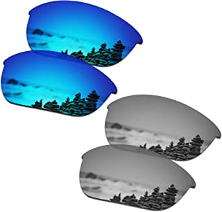 Men's Replacement Lenses for Oakley Half Jacket 2.0 OO9144 Sunglass - More Options