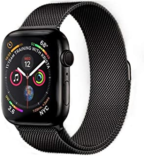 Strap / Band Compatible With Apple Watch 42/44mm Series SE/6/5/4,Stainless Steel Metal For iWatch bands Multiple Colors. (...