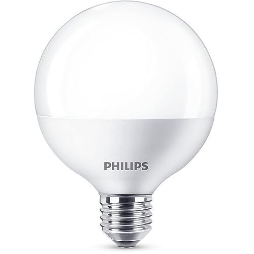LED Philips Bombilla E27 15W Equivalente 100W Blanco cálido