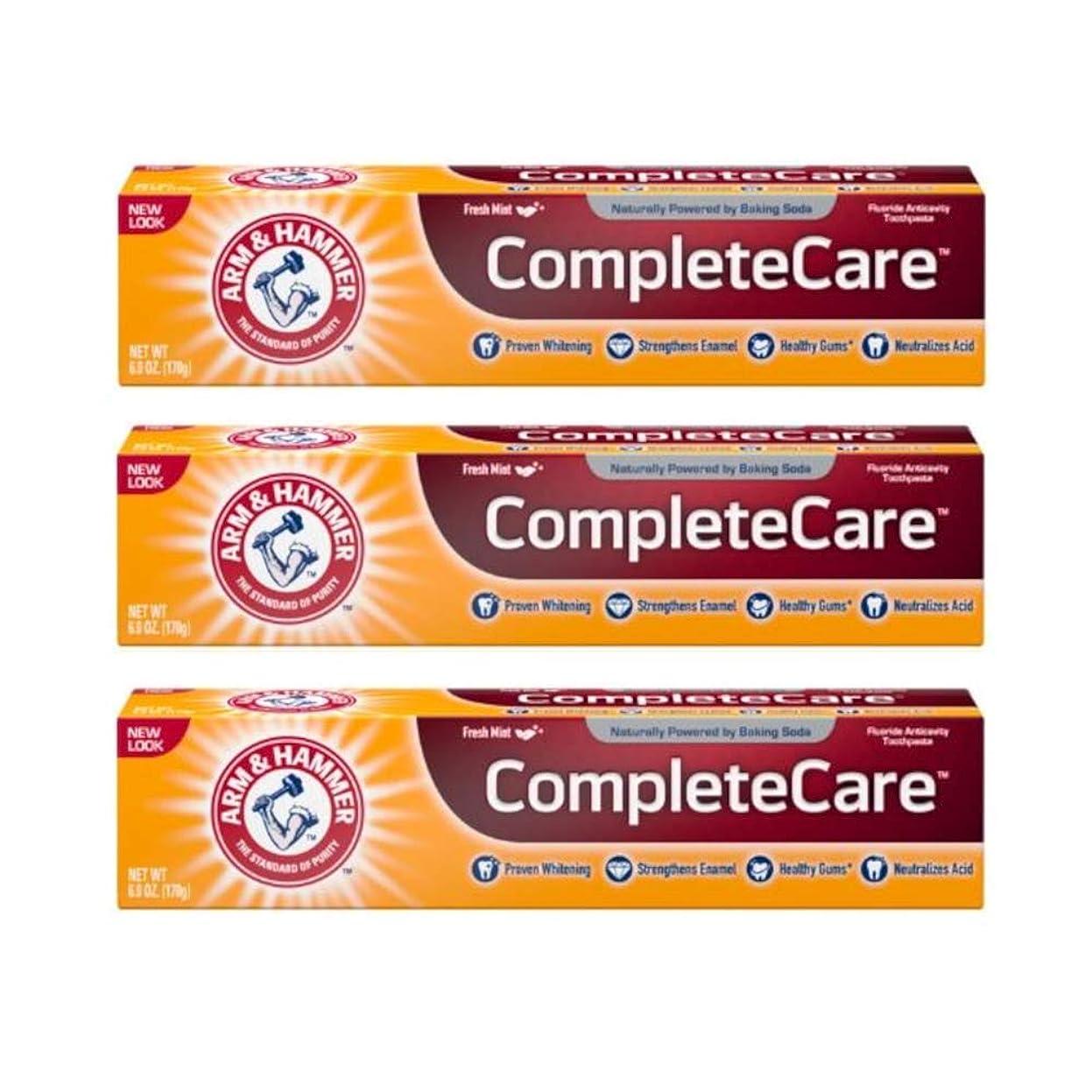 降臨刺すとげのあるArm & Hammer Fluoride Anti-Cavity Toothpaste - 6 oz - 3 pk by Arm & Hammer