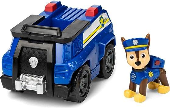 PAW Patrol Polizei-Fahrzeug mit Chase-Figur (Basic Vehicle)