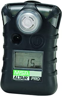 MSA 10076729 ALTAIR PRO Single Gas Detector, Hydrogen Cyanide (HCN), Low Alarm 4.5 PPM, High Alarm 10 PPM