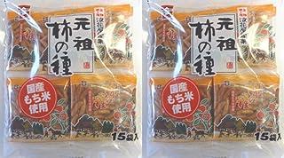 浪花屋 元祖柿の種 徳用袋 240g(16g×15袋) ×2袋