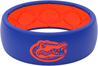 Silicone Ring - Groove Life NCAA University of Florida Gators Rubber Band for Men and Women with Lifetime Coverage, Breathable Grooves, Comfort Fit, and Durability - Original