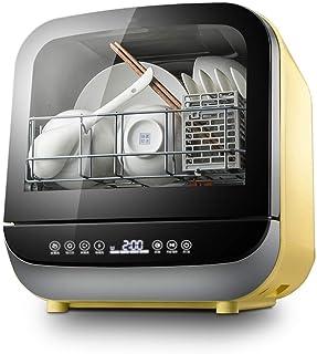 Atten Lavavajillas Mini automática compacta encimera lavavajillas, Cinco inteligente modos, 360 ° de limpieza, cocina Inicio 5L