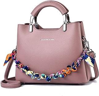 BUKESIYI Damen Tasche Umhängetasche Handtasche Frauen Klein Schultertasche Weekender Lack PU Leder CCDE77258