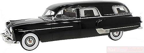 producto de calidad BOS MODEL BOS342 Packard HENNEY Hearse 1952 negro negro negro 1 18 MODELLINO Die Cast Model  ahorra hasta un 30-50% de descuento