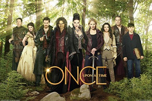 Once Upon A Time - Cast Green Poster Drucken (60,96 x 91,44 cm)