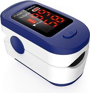 Oxymètre de Doigt Professionnel AGPTEK, Oxymètre de Pouls Électronique Numérique avec Moniteur de Fréquence Cardiaque-Capt...