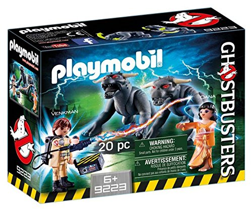 Playmobil 9223 Ghostbusters Venkman with Terror Dogs