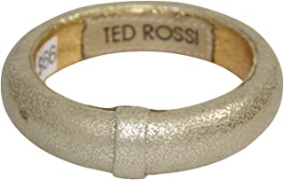 Ted Rossi Womens Gold Leather Bangle Gold OS