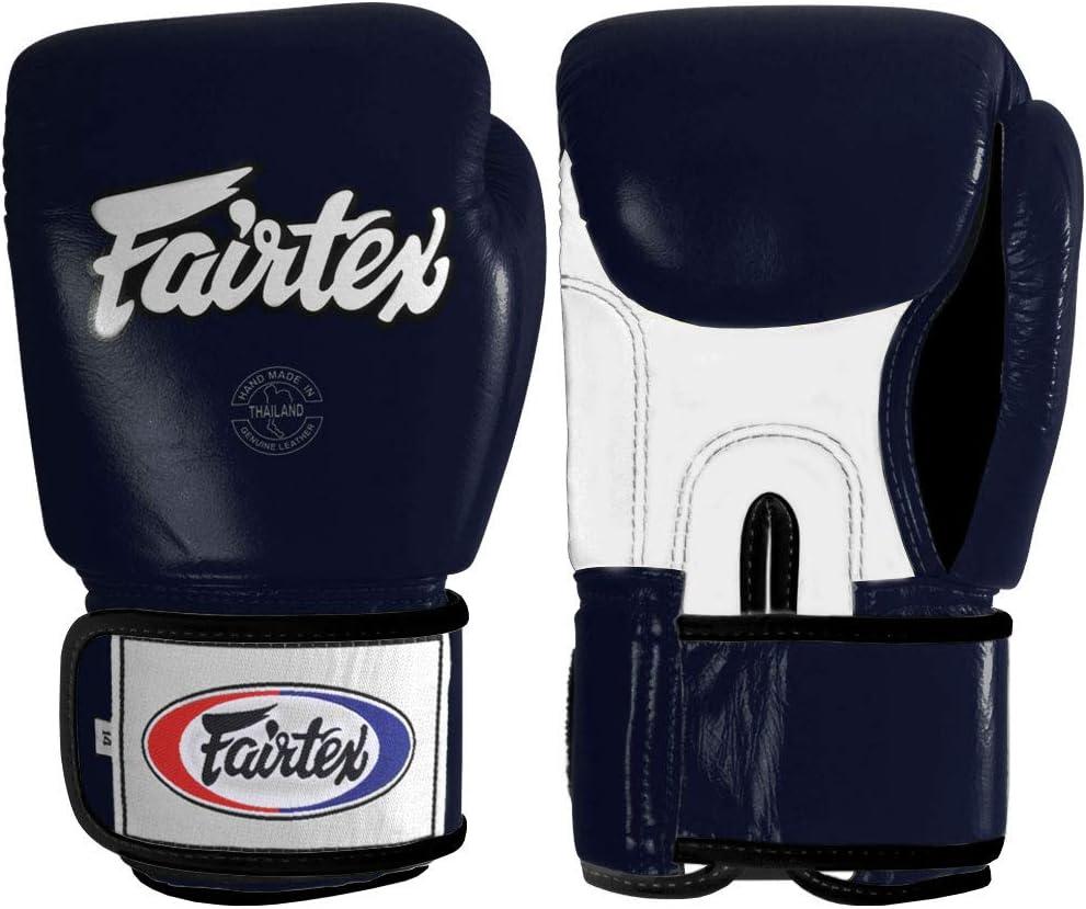Max 50% OFF Fairtex Muay Thai Style quality assurance Training Sparring Blue oz Gloves 12