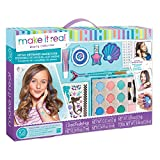 Make It Real - Mega Mermaid Makeover.  Mermaid Themed Girls Makeup Kit. Starter Cosmetic Set for Kids and Tweens....